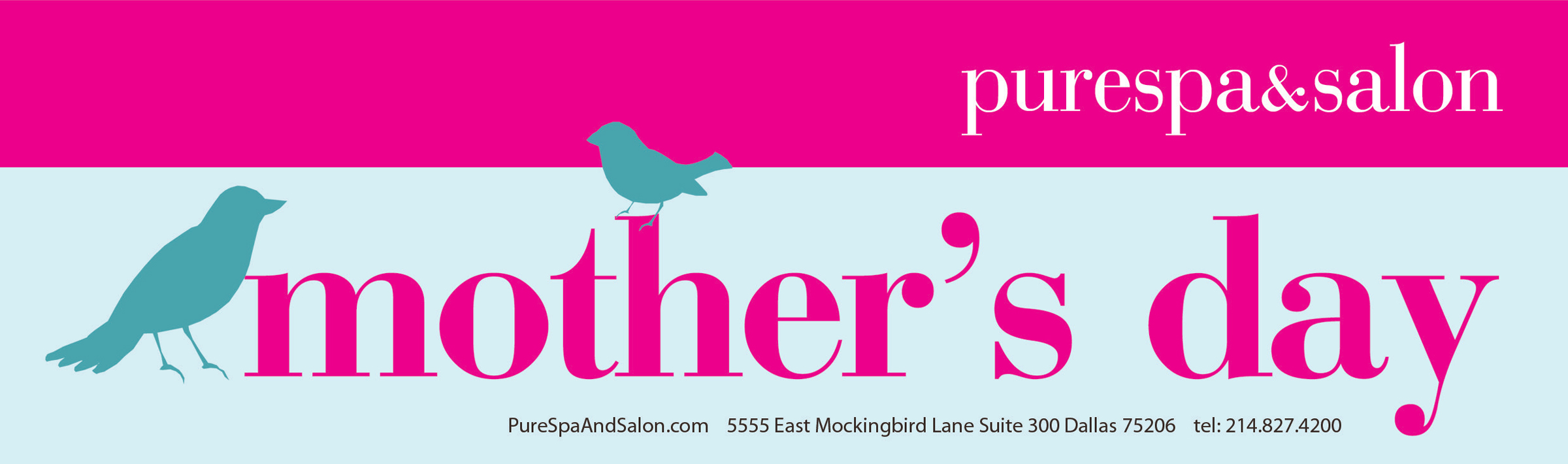 A Pure Spa-lendid Mother's Day