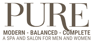 PURE Spa and Salon Logo