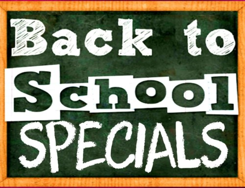 Back To School Specials!!!